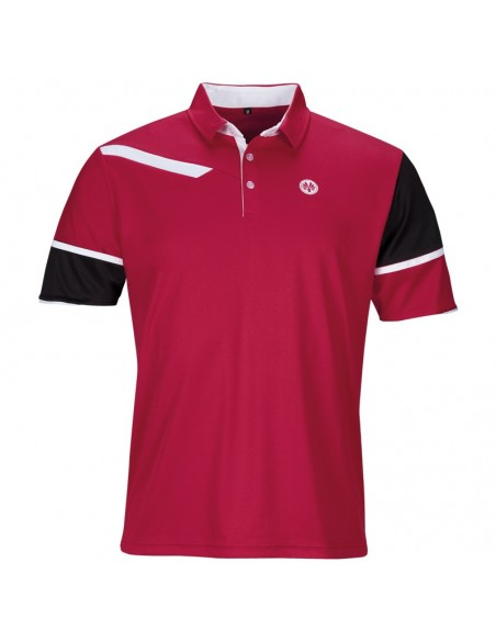 Rio polo rouge hommes