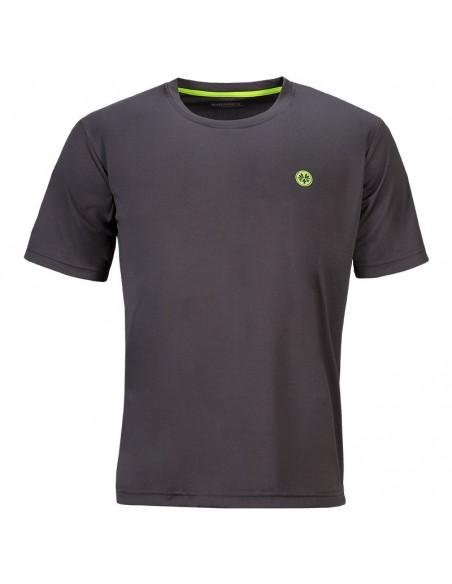 Active t-shirt gris hommes