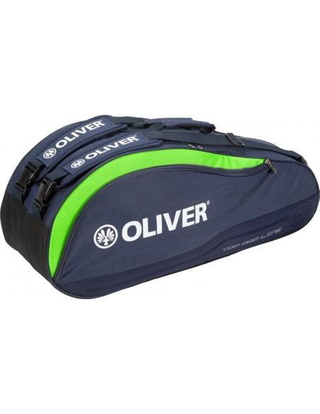 Top pro line racketbag bleu et vert