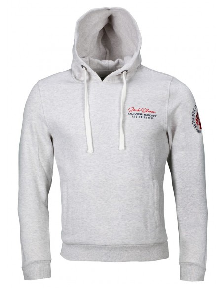 "Sweat à capuche ""Authentic"" blanc"